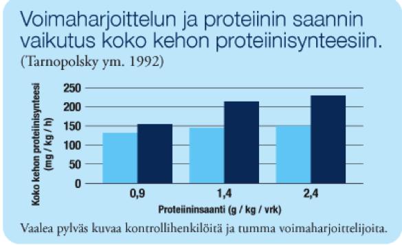 proteiinijavoimaharjoittelu
